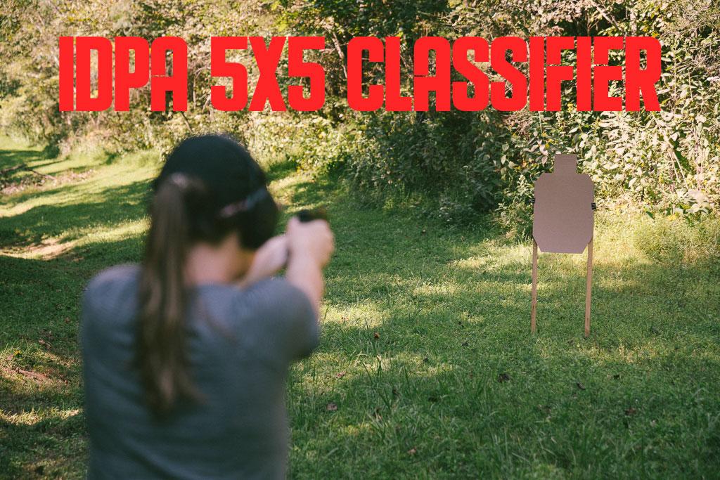Shooting the IDPA 5x5 Classifier