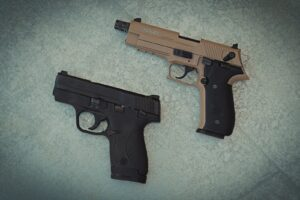 Striker fired and hammer fired pistols function differently