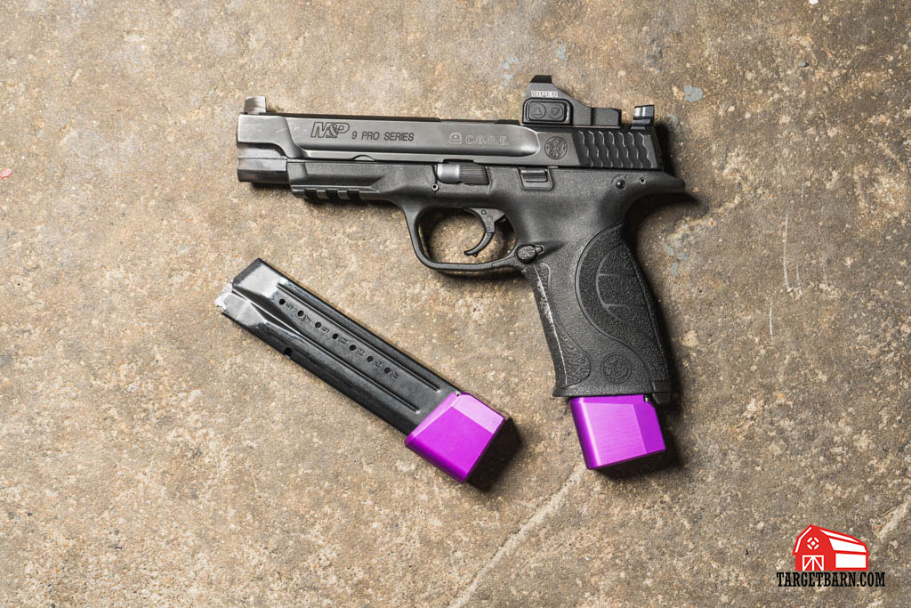 a USPSA carry optics gun has limited upgrades but does have an electronic sight